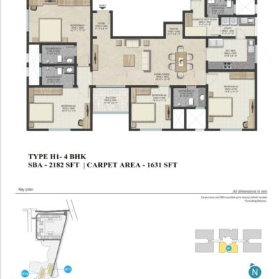 sobha-royal-pavilion-floor-plan