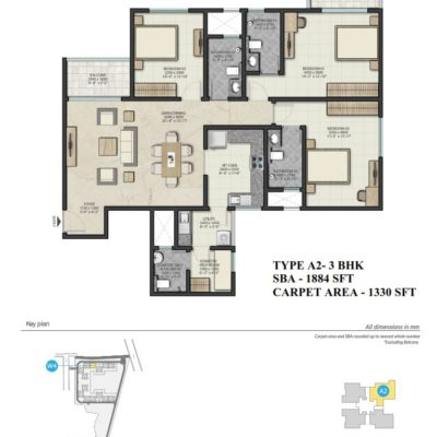 sobha-royal-pavilion-floor-plans