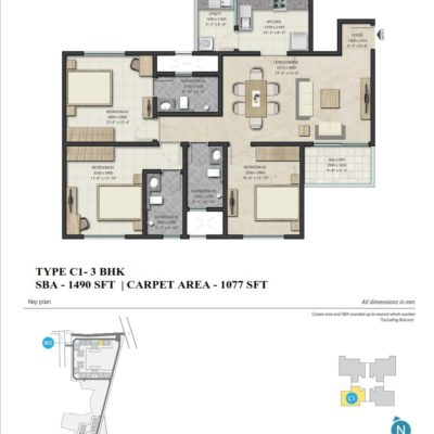 sobha-royal-pavilion-sarjapur-road-floor-plan